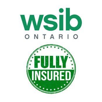 RPM Home Services is fully insured by WSIB Ontario