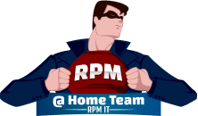 Rpm Home Services logo. RPM provides High Quality Insulation and Attic Mold Removal Services.