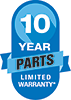 Amana 10 Years Parts Limited Warranty logo