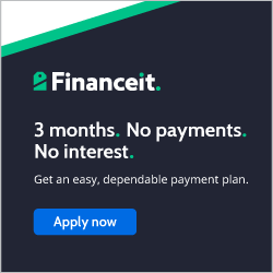Financeit banner - Pay for your purchase at RPM @ Home Team Ltd in monthly installments.